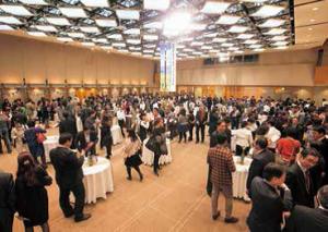 帝国ホテル「光の間」でおこなわれたNAGANO WINE FES は大成功。